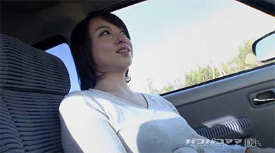 待ち合わせして車に乗る神埼久美
